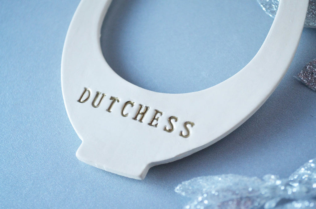 Horseshoe Ornament- Personalized With Name - Gift packaged