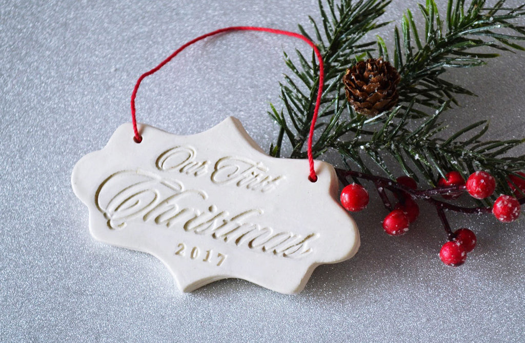 Our First Christmas 2020, First Christmas Ornament - SHIPS FAST - Gift Boxed and Ready to Give