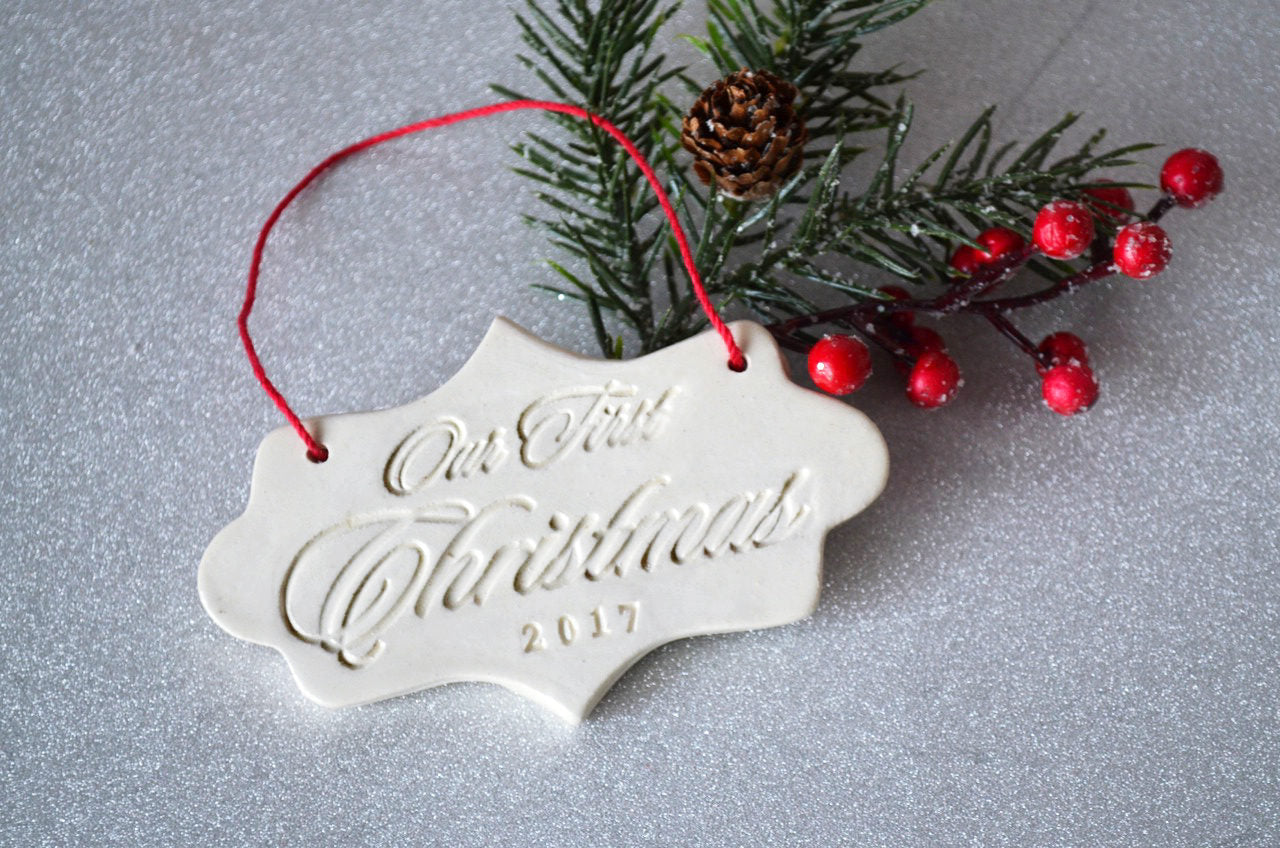 Our First Christmas 2017, First Christmas Ornament, Gift Boxed and ...