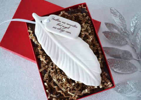 Sympathy Gift - Those We Love Don't Go Away, They Walk Beside Us Every Day - Gift Packaged