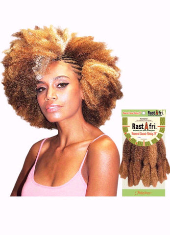 Golden State Rastafri Natural Classic Kinky Synthetic Braiding Hair - Wow Beauty Supply