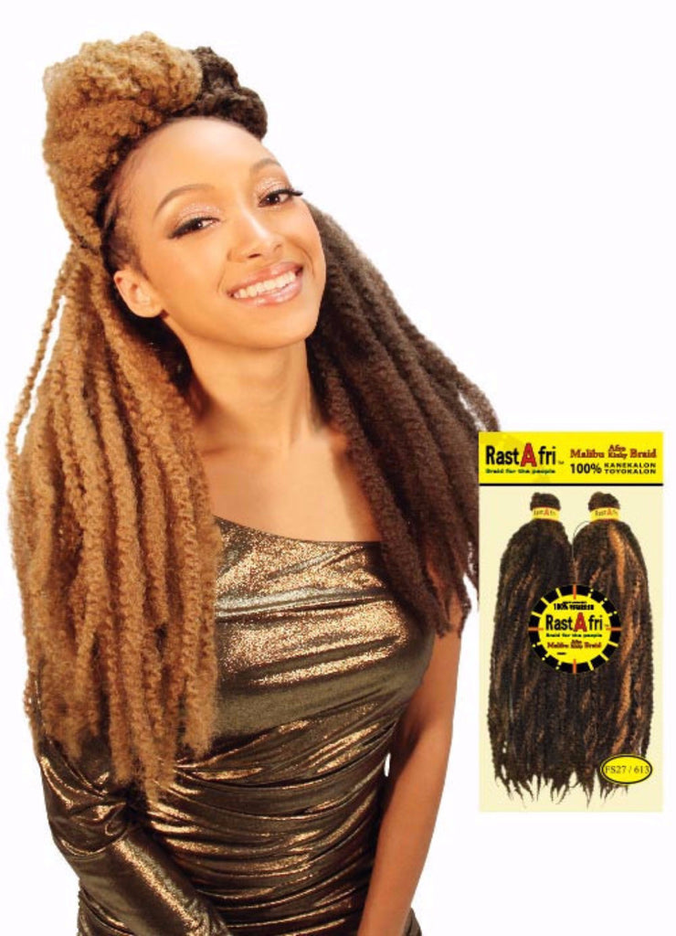 Golden State Rastafri Malibu Afro Kinky Synthetic Braiding Hair - Wow Beauty Supply