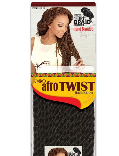 Eve Hair Cairo Afro Twist M Synthetic Braiding Hair - Wow Beauty Supply - 1