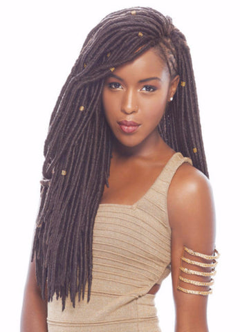 Janet Collection 2X Mambo Faux Locs Synthetic Braiding Hair - Wow Beauty Supply - 1