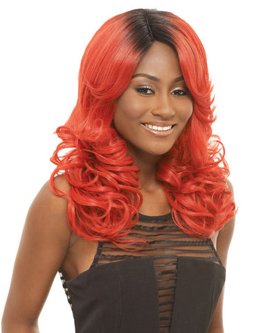 Janet Collection Chille Super Flow Deep Part Lace Wig - Wow Beauty Supply - 2