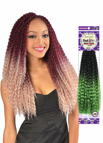 Goldent State Rastafri Ziggy Braid Synthetic Braiding Hair - Wow Beauty Supply