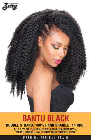 Zury Bantu Braid Synthetic Braiding Hair - Wow Beauty Supply - 2