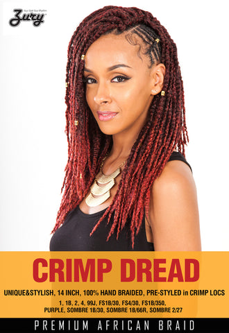 Zury Crimp Dread Synthetic Braiding Hair - Wow Beauty Supply - 3