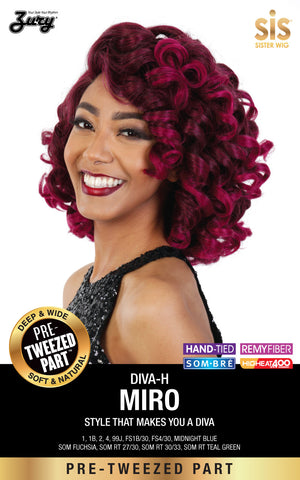 Zury Diva Miro Pre-tweezed Part Synthetic Wig - Wow Beauty Supply - 2