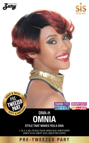 Zury Diva Omnia Pre-tweezed Part Synthetic Wig - Wow Beauty Supply - 2