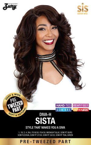 Zury Diva Sista Pre-tweezed Part Synthetic Wig - Wow Beauty Supply - 2