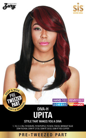 Zury Diva Upita Pre-tweezed Part Synthetic Wig - Wow Beauty Supply - 2