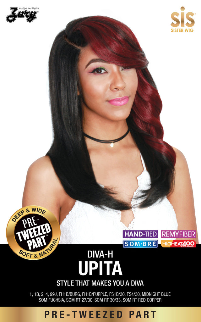 Zury Diva Upita Pre-tweezed Part Synthetic Wig - Wow Beauty Supply - 1