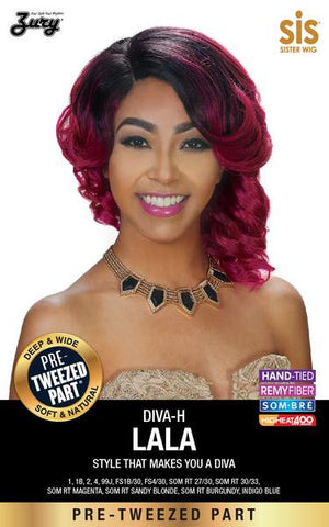 Zury Diva-H Lala Pre-tweezed Part Synthetic Wig