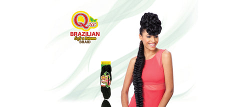Shake-N-Go Que Brazilian Braid Synthetic Braiding Hair - Wow Beauty Supply