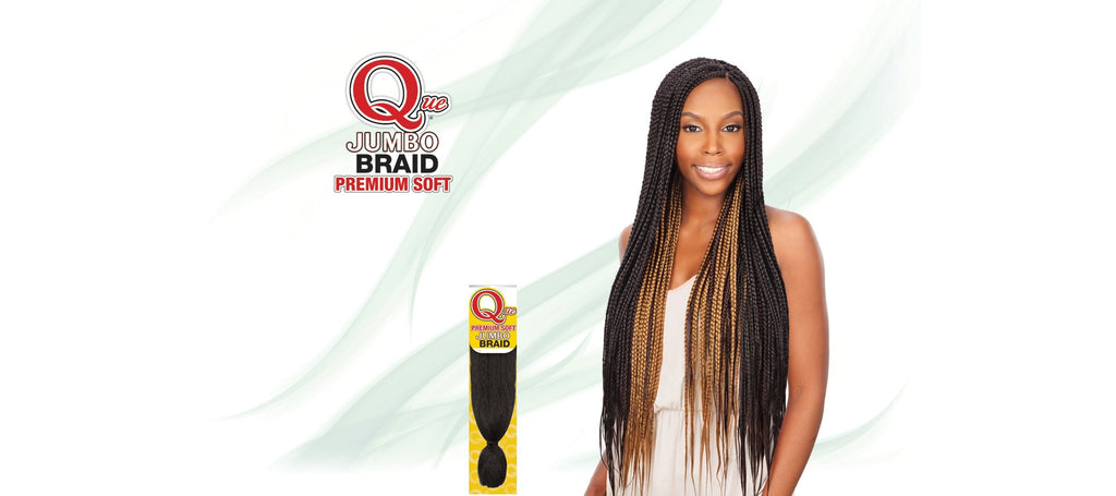 Shake-N-Go Que Soft Jumbo Braid Synthetic Braiding Hair - Wow Beauty Supply