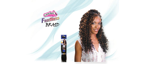 "Shake-N-Go Deep Twist Bulk 22"" Synthetic Braiding Hair - Wow Beauty Supply"