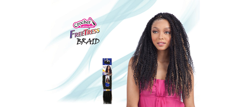 Shake-N-Go Freetress Island Twist Braid Synthetic Braiding Hair - Wow Beauty Supply