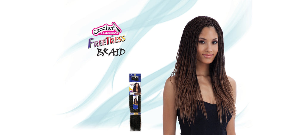 Shake-N-Go Micro Senegalese Twist Synthetic Braiding Hair - Wow Beauty Supply