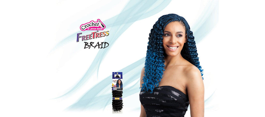 Shake-N-Go Pre-Curled Bohemian Synthetic Braiding Hair - Wow Beauty Supply