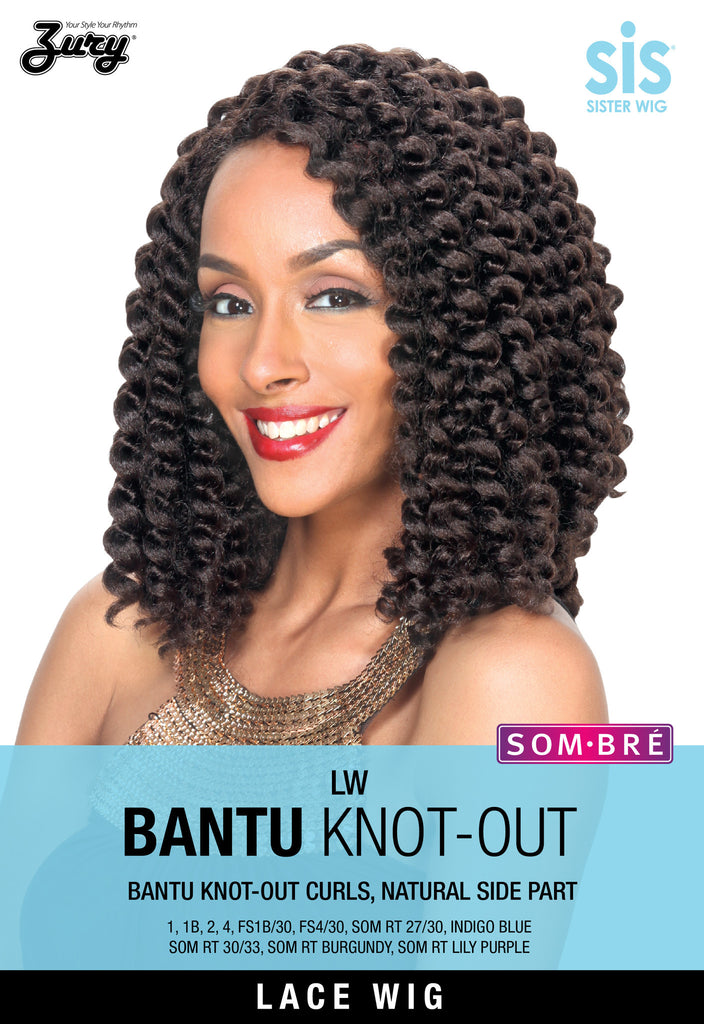 Zury SIS LW Bantu Knot-Out Lace Front Wig - Wow Beauty Supply