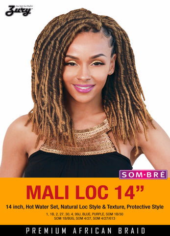 Zury Mali Loc Synthetic Braiding Hair - Wow Beauty Supply