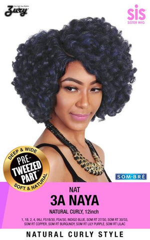 Zury NAT 3A Naya Naturali Star Synthetic Wig Pre-tweezed Part - Wow Beauty Supply - 1