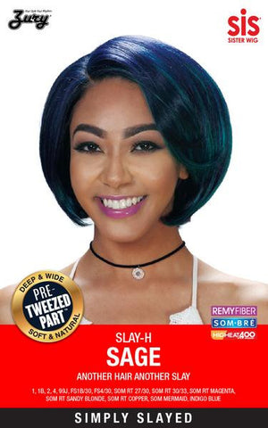 Zury Slay Sage Synthetic Pretweezed Part Wig