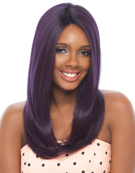 Janet Collection Olga Super Flow Deep Part Lace Wig - Wow Beauty Supply - 1