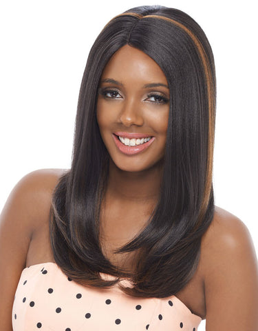 Janet Collection Olga Super Flow Deep Part Lace Wig - Wow Beauty Supply - 2