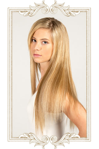 "Bohyme Silky Straight Hand Tied 22"" Remy Hair - Wow Beauty Supply - 2"