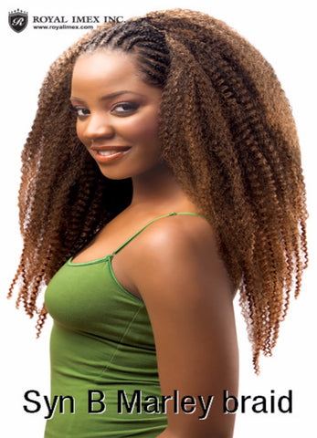 Zury Marley Braid Synthetic Braiding Hair - Wow Beauty Supply