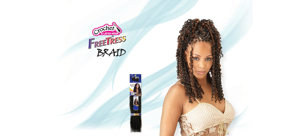 Shake-N-Go Tango Curl Synthetic Braiding Hair - Wow Beauty Supply