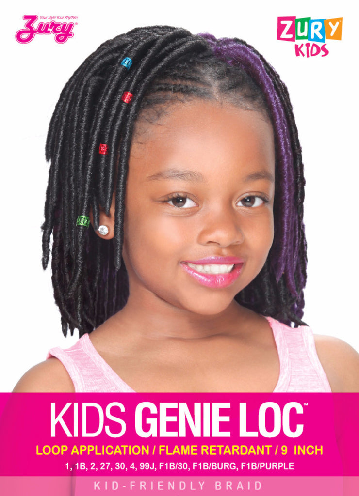 Zury Kids Genie Loc Braid Synthetic Braiding Hair - Wow Beauty Supply