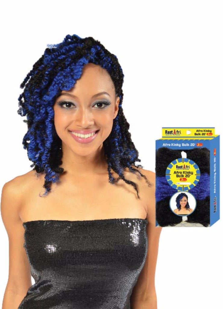 Golden State Rastafri Afro Kinky Braid Synthetic Braiding Hair - Wow Beauty Supply