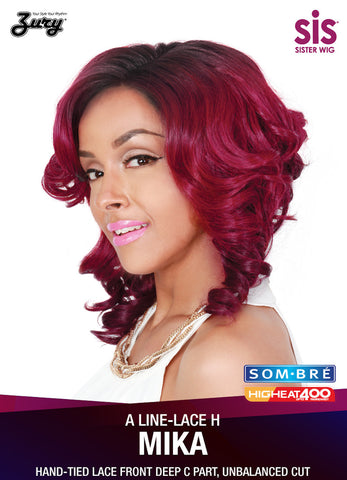 Zury SIS A Line-H Lace Mika Synthetic Wig - Wow Beauty Supply
