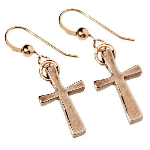 Earrings: Christian Crosses