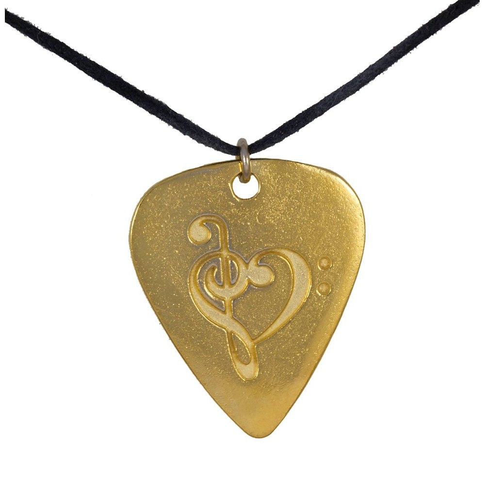Guitar pick gold dipped pendant necklace on adjustable length guitar pick gold dipped pendant necklace on adjustable length natural fiber cord aloadofball Image collections