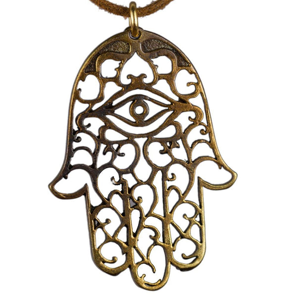 Necklaces: Hamsa