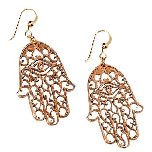 Earrings: Hamsa