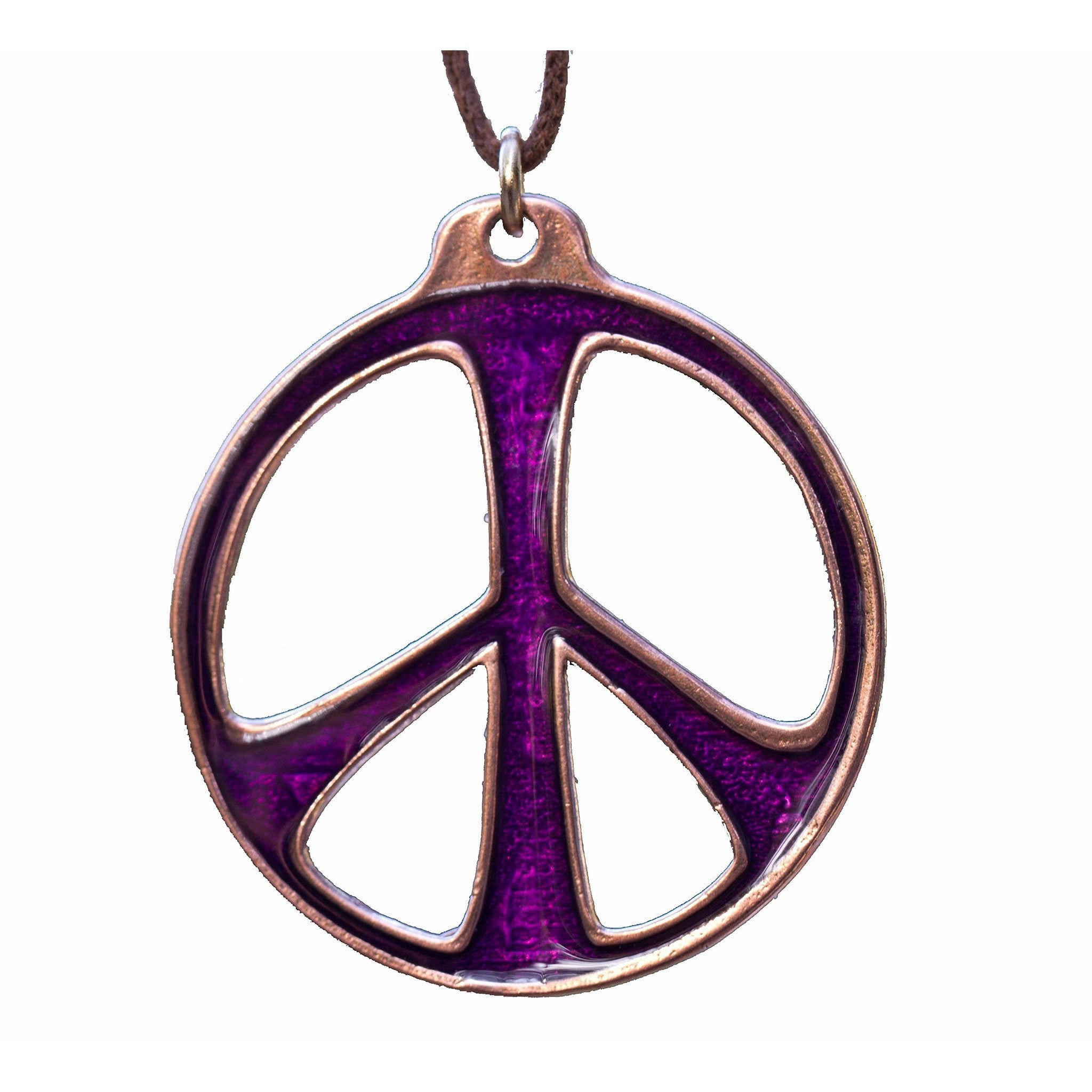 peace sign claire necklace tone gold pendant s flower
