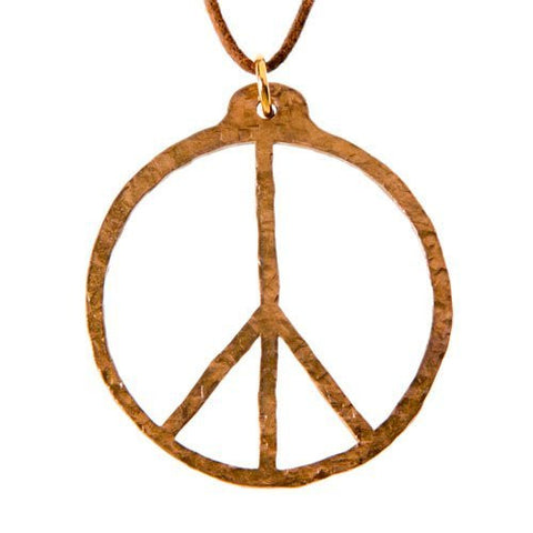 Necklaces Peace Symbol From War To Peace