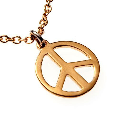 Necklaces: Peace Symbol
