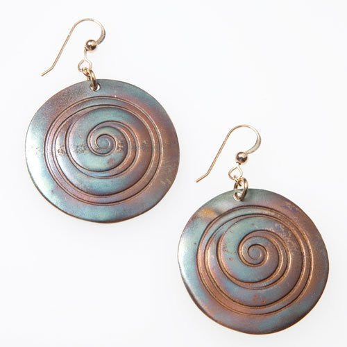 Earrings: Spiral