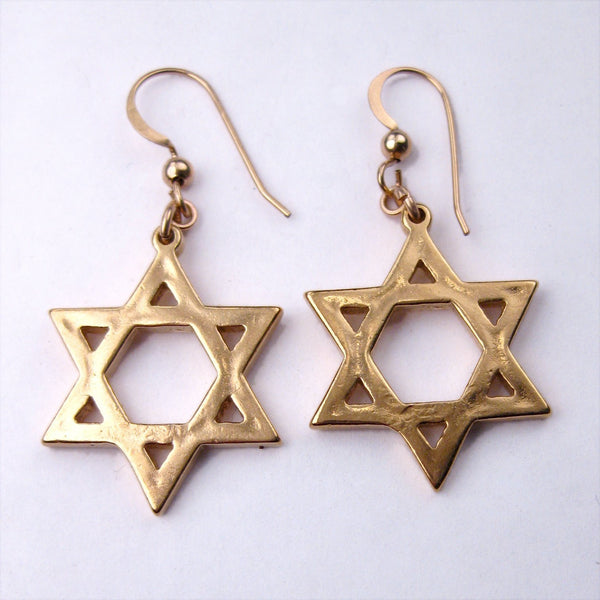 Earrings: Star of David