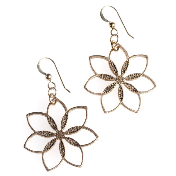 Earrings: Flower Power