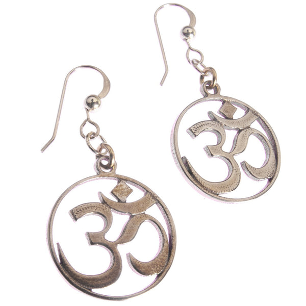 Earrings: Om