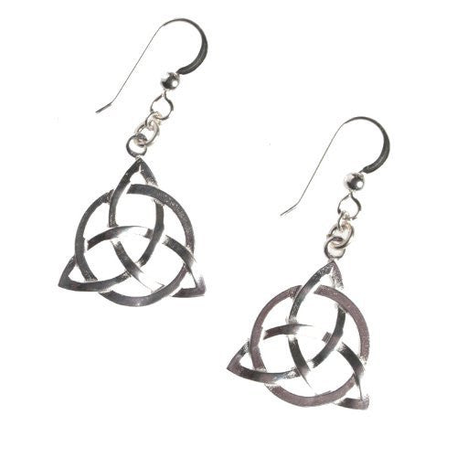 Earrings: Triquetra
