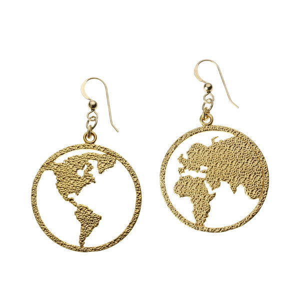Earrings: Peace On Earth