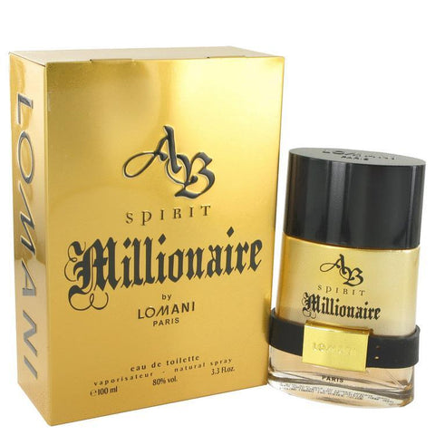Spirit Millionaire by Lomani Eau De Toilette Spray 3.3 oz